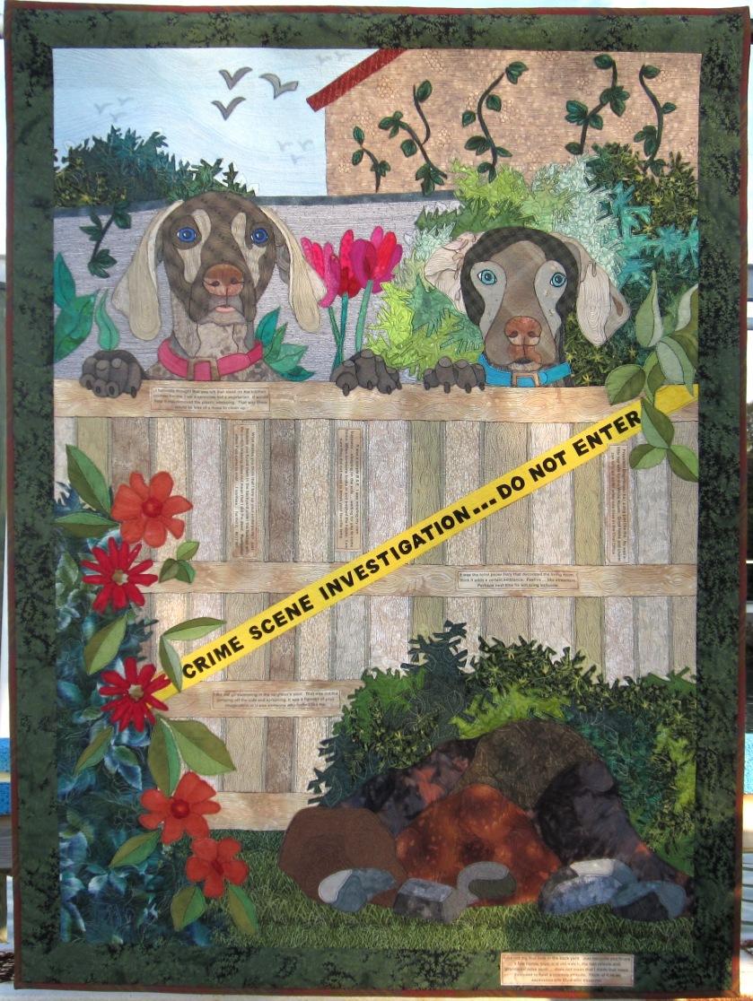 Crime Scene 40x53 $5,200.