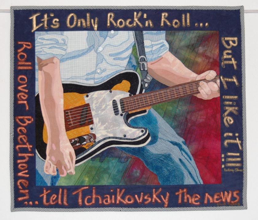 It's Only Rock n' Roll 24 x 27 $1,500.